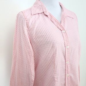 J. Crew blouse casual button down